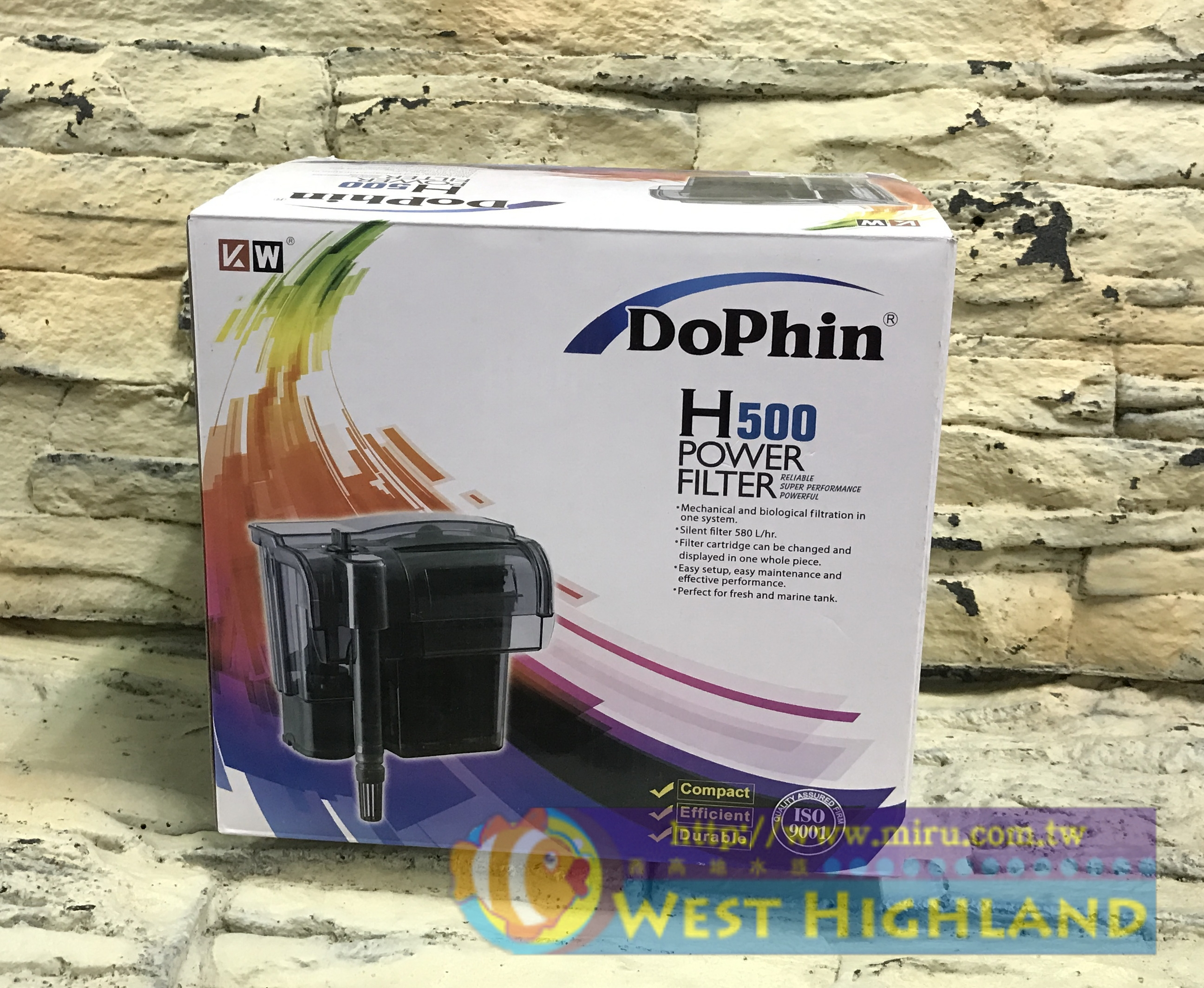 Dophin 海豚 外掛過濾器(H500)Power Fiter
